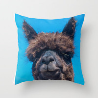 STRAW IS TRENDY Throw Pillow by catspaws