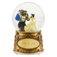 Disney Beauty and the Beast Snowglobe - Personalizable   Disney Store