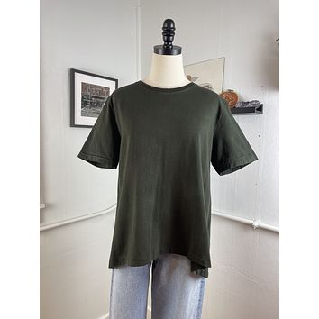 Citizens of Humanity Dark Olive Tee (M)