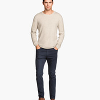 Twill Pants Skinny fit - from H&M