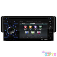 """Boss 4.6"""" Single Din Receiver DVD/CD USB/SD Front Aux Input"""