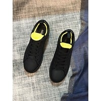 FENDI  Men Fashion Boots fashionable Casual leather Breathable Sneakers Running Shoes