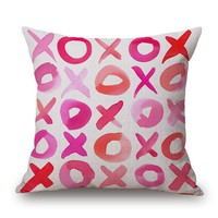 Lovers Paradise Throw Pillow Cover