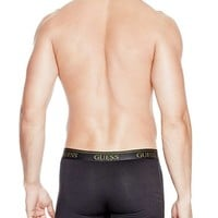 Stretch Cotton Boxer Brief Set at Guess