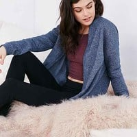 Out From Under Seamed Fleece Cardigan