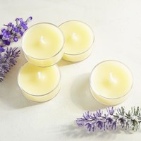 Set of 12 Honeysuckle Tealight Candles
