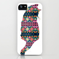 Aztec Cat iPhone Case by Michelle   Society6