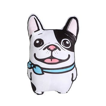 Frenchie Happy Pillow