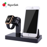 Charger Dock Station Charging Dock for iPhone Apple Stand Watch 38mm 42mm Lazyman Holder Bracket Desktop Stand Cradle Holder