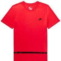 Nike - Contrast-Trimmed Jersey T-Shirt