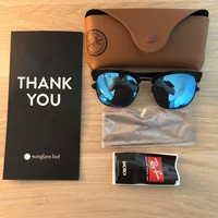 NEW SUNGLASSES RAY-BAN RB3565D in Black