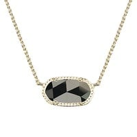 Elisa Pendant Necklace in Black - Kendra Scott Jewelry