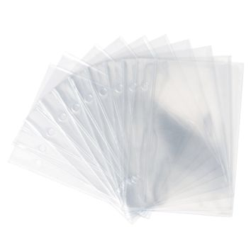 UberChic Beauty - Mini Holographic Storage Binder Refill Pages - Pack of 10