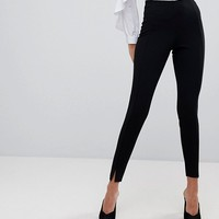Missguided Skinny Fit Cigarette Trousers at asos.com