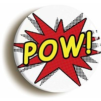 The Book Was Better Funny Button Pin (Size Is 1inch Diameter) Cute Joke Librarian
