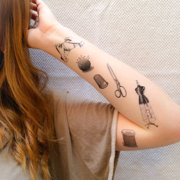 6 Sewing Temporary Tattoos- SmashTat