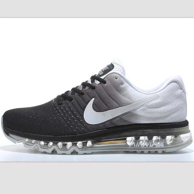 """Image of """"NIKE"""" Trending Fashion Casual Sports Shoes AirMax section Grey white"""