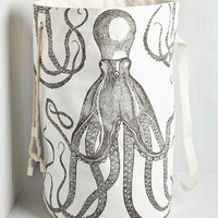 Nautical Float or Ink Laundry Bag by ModCloth