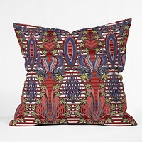 Sharon Turner Patriotic Celebration Throw Pillow