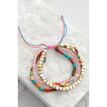 Multi Layer Summer Friendship Bracelet