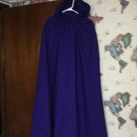 Cosplay Hooded Cape suitable for Raven Teen Titans