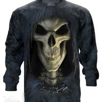 Big Face Death Long Sleeve Tee