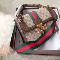 Gucci Queen Margaret Gg Small Top Handle Bag #1681