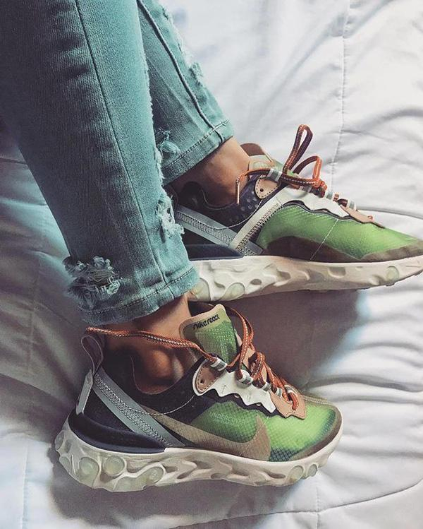Image of Nike React Element 87 Fashion Sneakers Sport Shoes