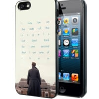 BBC Sherlock Quote Benedict Cumberbatch Samsung Galaxy S3 S4 S5 S6 S6 Edge (Mini) Note 2 4 , LG G2 G3, HTC One X S M7 M8 M9 ,Sony Experia Z1 Z2 Case