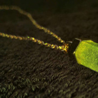 Earth Element Crystal Necklace