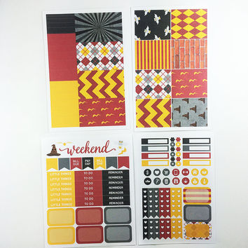 ECLP   Harry Potter Weekly Planner Kit   140 stickers