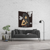 Winehouse, Amy Wall Tapestry by wandeko