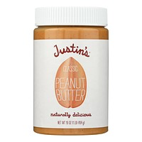 Justin's Nut Butter Peanut Butter - Classic - Pack of 12 - 16 oz.