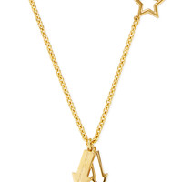 Marc by Marc Jacobs Jewelry Women's Pointing Bow Tie Necklace - Yellow