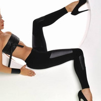 Brand New Black Leggings ,Super Sexy! One Size Fits All.