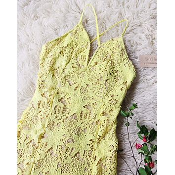 Daffodil Lace Dress