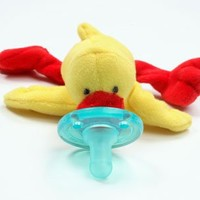 WubbaNub Yellow Duck Pacifier