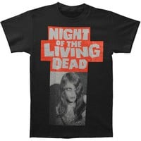 Night Of The Living Dead Men's  Kyra Coming Out T-shirt Black