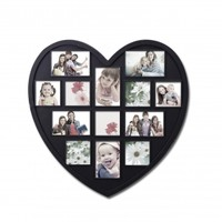 Valentine's Day Gift Ideas: Heart Shaped Photo Frame -- Adeco