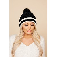Checked Out Beanie (Black)