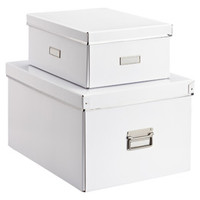The Container Store > Our White Storage Boxes