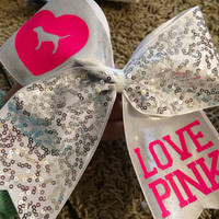 Love Pink Victoria's Secret Cheer Bow