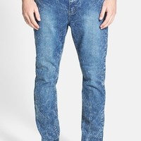 Men's Cheap Monday 'Dropped' Slouchy Slim Fit Jeans ,