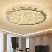 Creative Golden Round Crystal Chandeliers