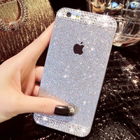 Crystal iPhone 7 7Plus & iPhone 6s 6 Plus case cover + Free Gift Box