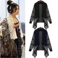 Womens Knitted Sweater Long Sleeve Knitwear Cardigan Coat Outwear Jacket Tops ET 7_S = 1917214020
