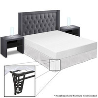 Walmart: Best Price Quality 8'' Memory Foam Mattress and Bed Frame Set