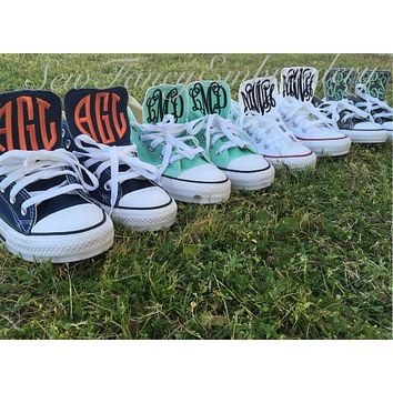 Monogrammed Converse Shoes