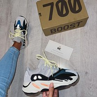 Adidas Yeezy Boost 700 Wave Runner Solid Shoes sneakers