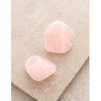 Rose Quartz Pocket Stones - Set of 2